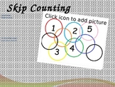 Skip Counting Interactive Powerpoint and Posters