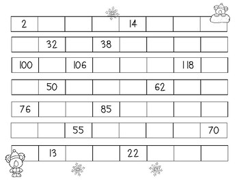 Skip Counting Koalas - Skip Counting by 3's - Number Patterns Practice Worksheet