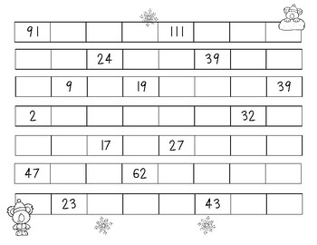 Skip Counting Koalas - Skip Counting by 5's - Number Patterns Practice Worksheet