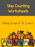 Skip Counting -- Making Groups