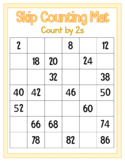 Skip Counting Mat - Count by 2s