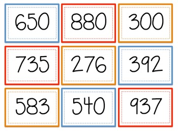 Skip Counting Match game