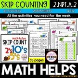 Skip Counting  2.NBT.A.2  2nd Grade Math Helps