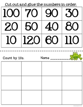 Skip Counting Math Practice