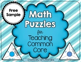 Skip Counting Math Puzzle {Freebie}