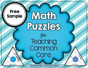 Skip Counting Math Puzzle {Freebie}