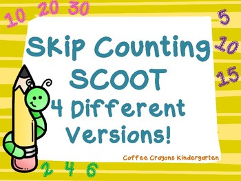 Skip Counting Math SCOOT