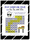 Skip Counting Maze: 2s, 5s, and 10s