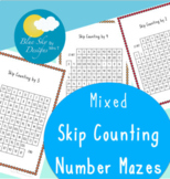 Skip Counting Mazes: Mixed