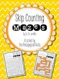 Skip Counting Mazes--FREEBIE!