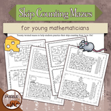 Skip Counting Mazes for Young Mathematicians
