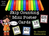 Skip Counting Mini Poster Cards {Common Core Aligned}