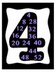 Skip Counting Multiples 2-12 Posters