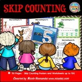 Skip Counting Number Posters (Multiples)