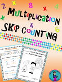 Print and Go Skip Counting to Multiplication