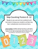 Skip Counting (Multiplication) Posters