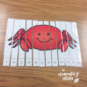 Skip Counting/Multiplication Puzzles {2nd & 3rd Grade - Set 1}
