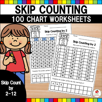 Skip Counting No Prep Activity Pages