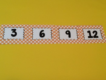 Skip Counting Number Lines