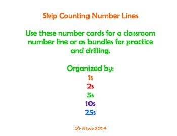 Skip-Counting Number Lines