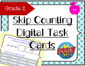 Skip Counting & Number Pattern - BOOM Cards