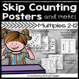 Skip Counting Number Posters and More! Multiples 2 through 12