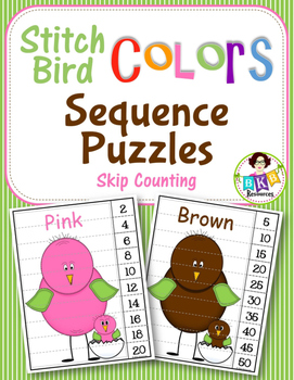 Skip Counting ● Puzzles ● Counting by 2's ● Counting by 5's ● Colors●Math Center