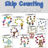 Skip Counting Posters and Booklet for Numbers 2_10