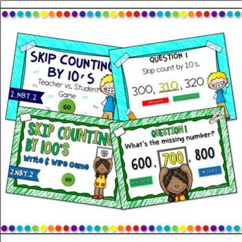 Skip Counting Numbers Bundle