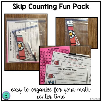 skip counting fun pack by ktp on tpt teachers pay teachers. Black Bedroom Furniture Sets. Home Design Ideas