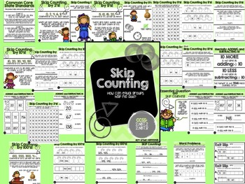 Skip Counting Packet! Common Core aligned!