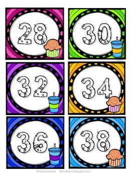 Skip Counting Part 1 by 2's, 5's, & 10's