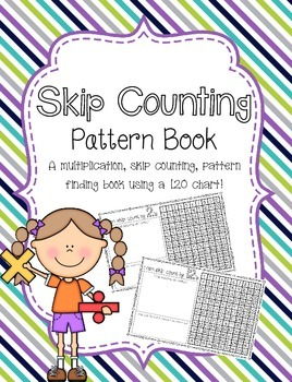 Skip Counting Pattern Book *~Low Prep~*