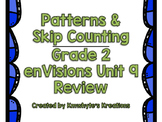 Skip Counting & Patterns - Grade 2 enVisions Unit 9 Review