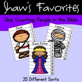 Skip Counting: People in the Bible