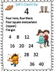 Skip Counting Posters, Learn Multiples 2-10 through Song