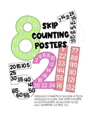 Skip Counting Posters, Multiples Posters
