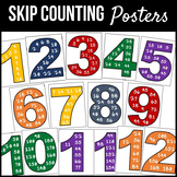 Skip Counting Posters / Multiplication Posters