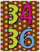Skip Counting Posters Number Line - Dots on Chocolate