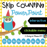 Skip Counting PowerPoint (counting in 2, 3, 4, 5, 6, 7, 8, 9, & 10's)