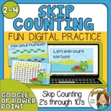 Skip Counting PowerPoint or Google Slides Presentation 2's