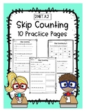 Skip Counting Practice - 10 Pages