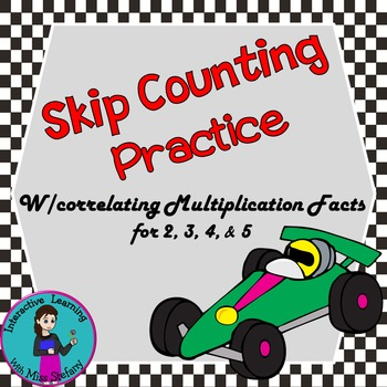 Skip Counting Practice: 2-5
