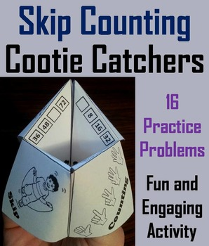 Skip Counting Game/ Skip Counting Practice 1st 2nd 3rd Grade