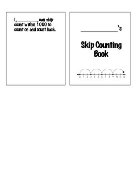 Skip Counting Practice Book