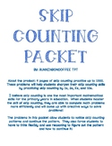 Skip Counting Practice Packet