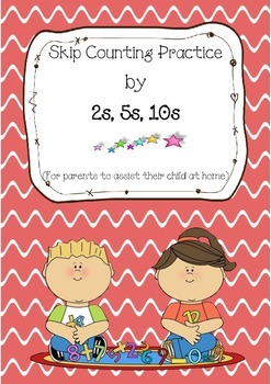 Skip Counting Practice by 2s, 5s, 10s