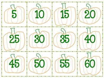 Skip Counting Pumpkins!