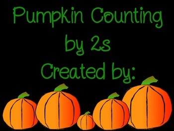 Skip Counting Pumpkins (by 2s)
