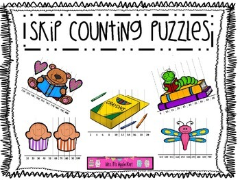 Skip Counting Puzzles